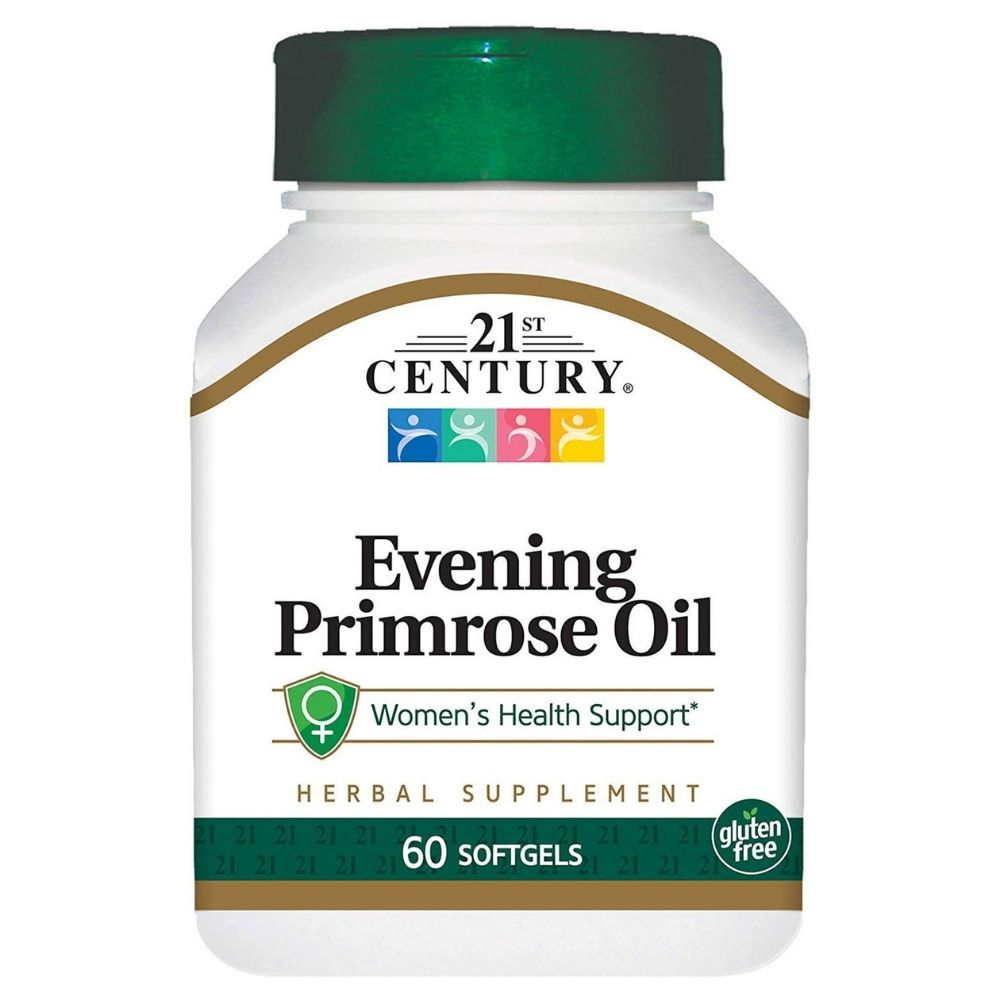 Антиоксидант 21st Century Evening Primrose Oil 500 mg 60 softgels